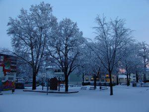 Winterliche Grüße aus der Schule